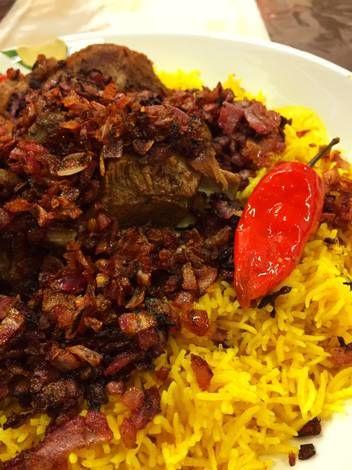 كبسة لحم بطريقتي الخاصة بالصور من طيف Sk Recipe Food Food And Drink Arabic Food