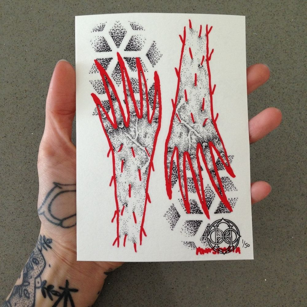 Collaboration doodle by hannah pixie snowdon and anastasia tasou
