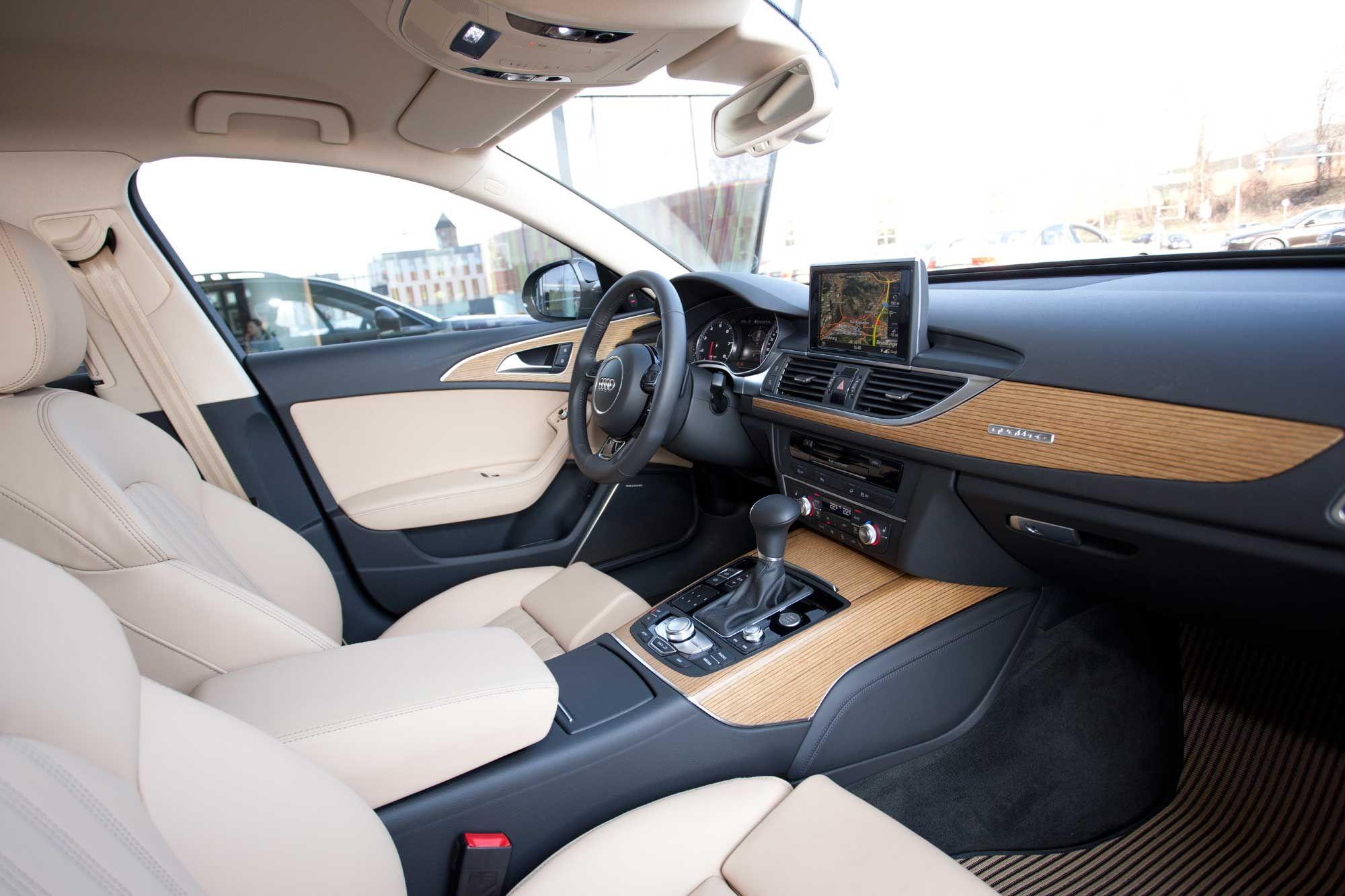 2013 Audi A6 Allroad Estate White Car Interior Audi A6 Allroad
