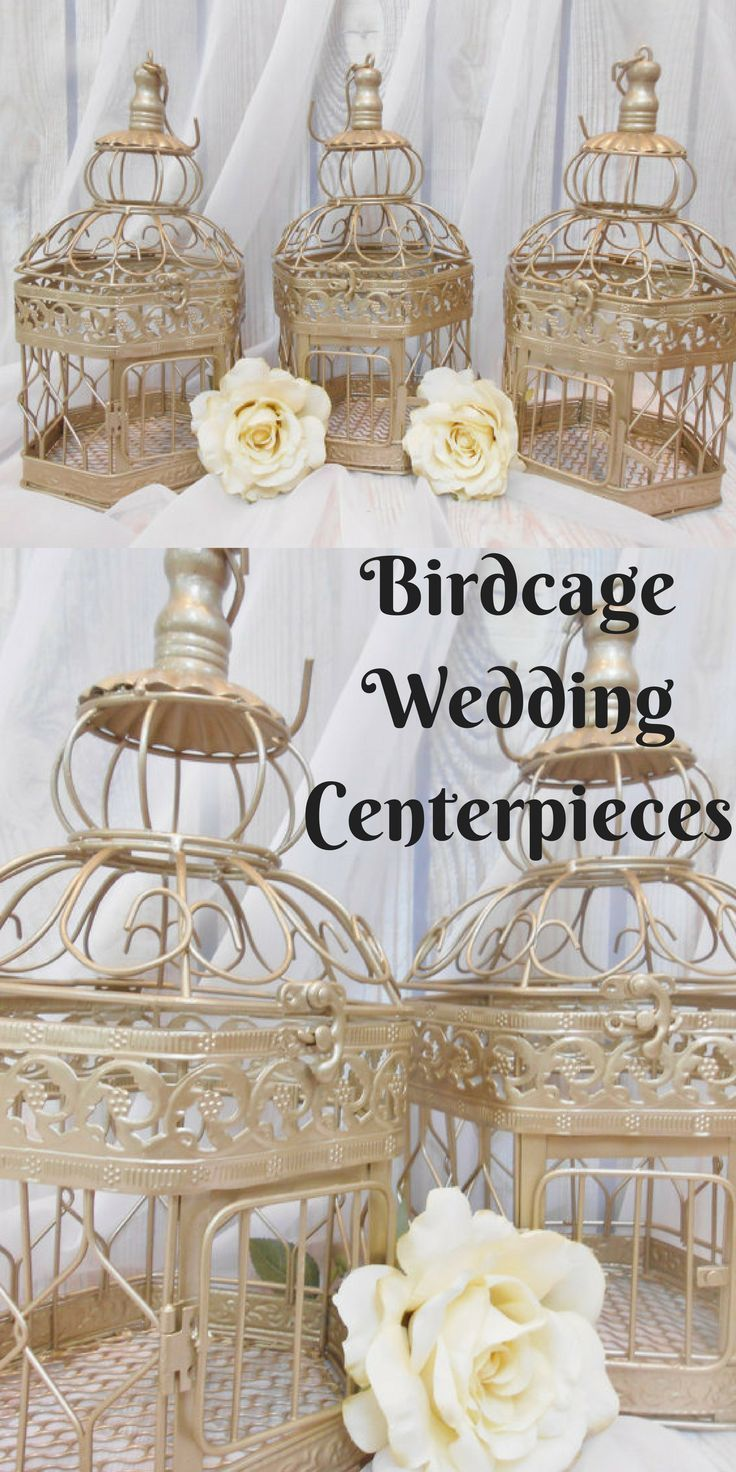 FIVE Wedding Centerpieces | Birdcage Centerpieces | Wedding Center ...