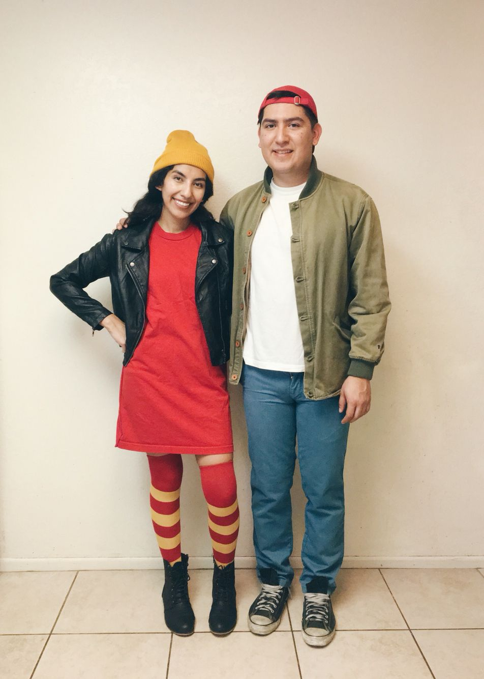 tj and spinelli from recess | diy halloween costume | diy | costumes