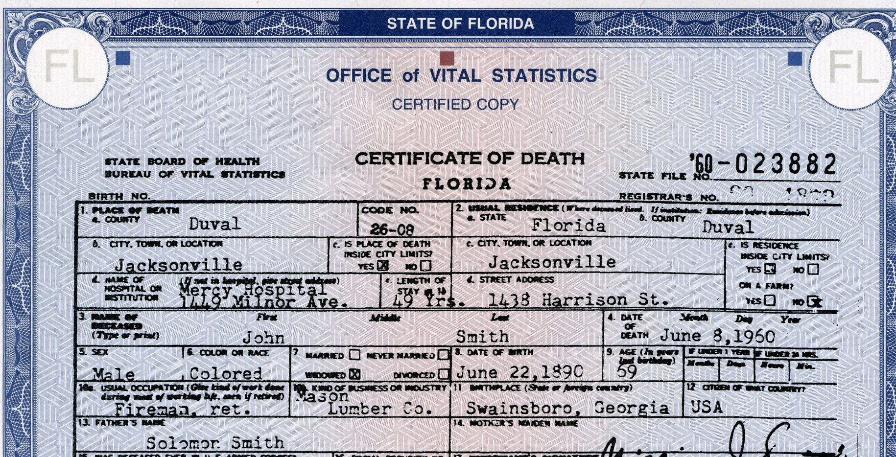 The information on a death certificate is a rich terrain for the information on a death certificate is a rich terrain for genealogists but a tricky aiddatafo Image collections