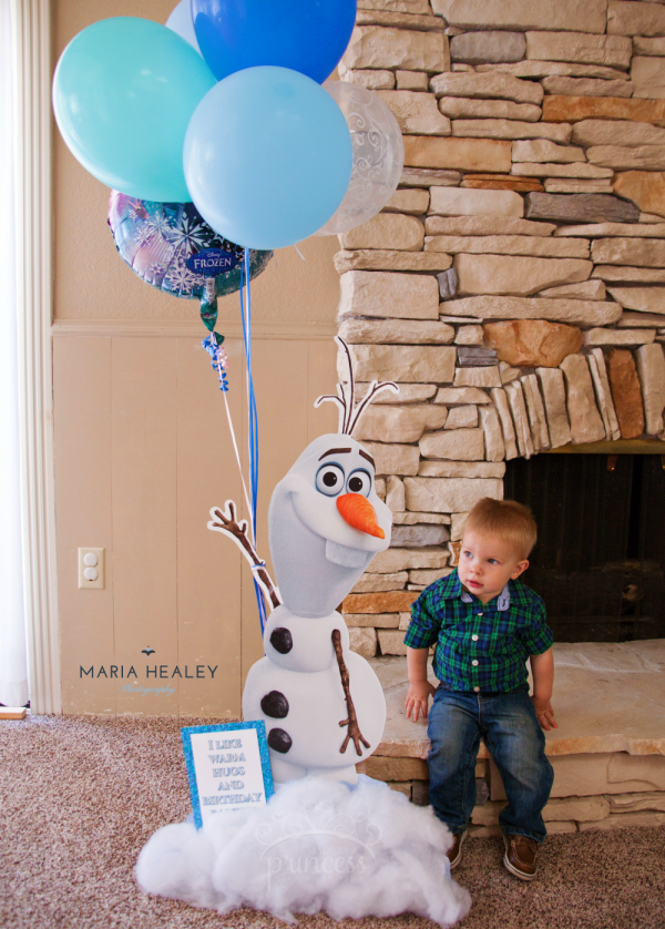 Magical Frozen Birthday Party Ideas - Made by a Princess