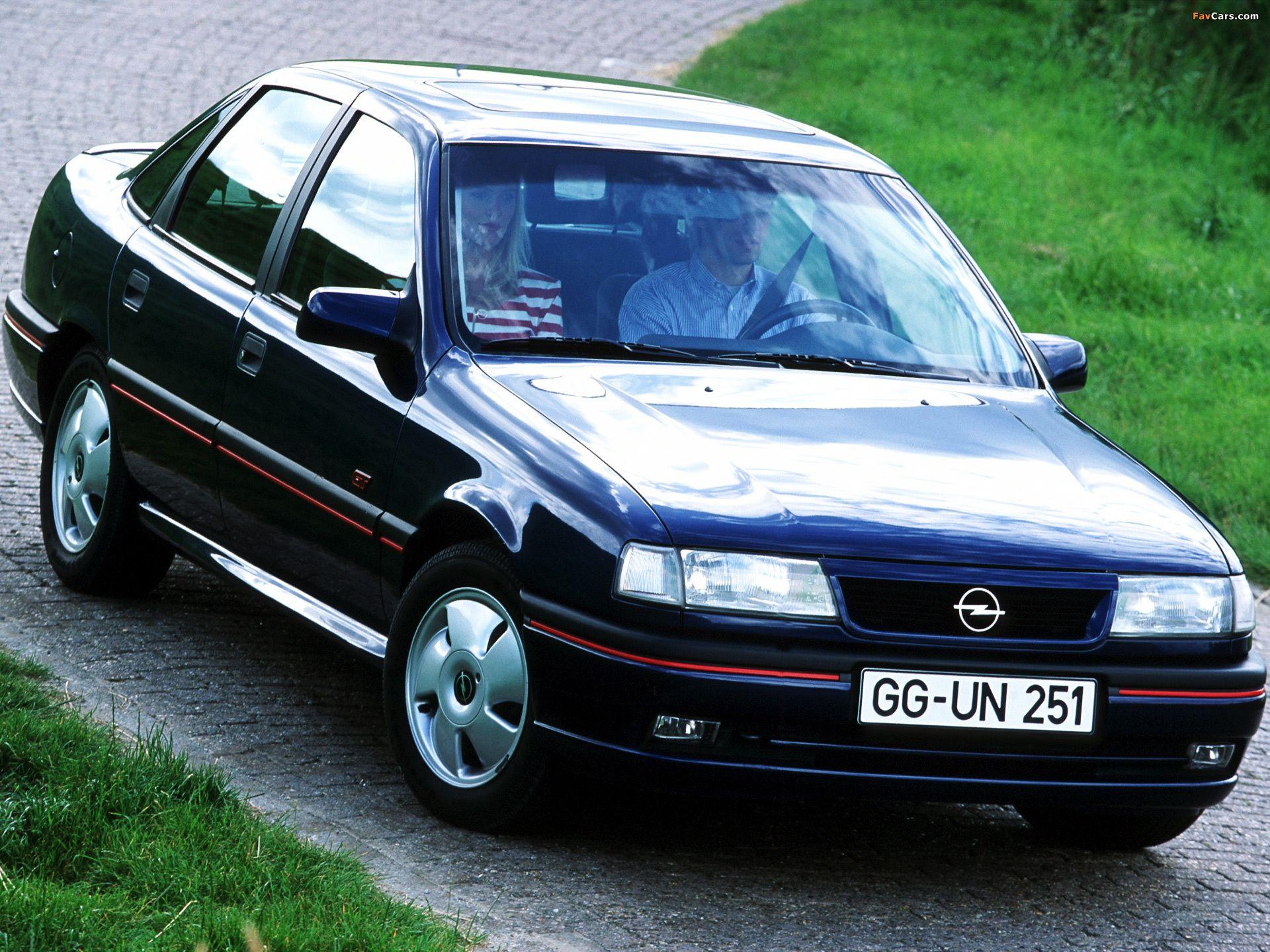 Opel Vectra Gt Sedan De 1992 Un Bicho Con Mas De 100cv Poco Usual