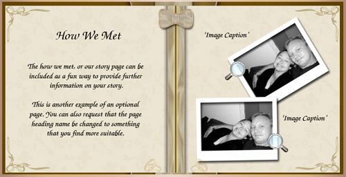 This zine wedding program brings the funny to the ceremony - sample email invitation