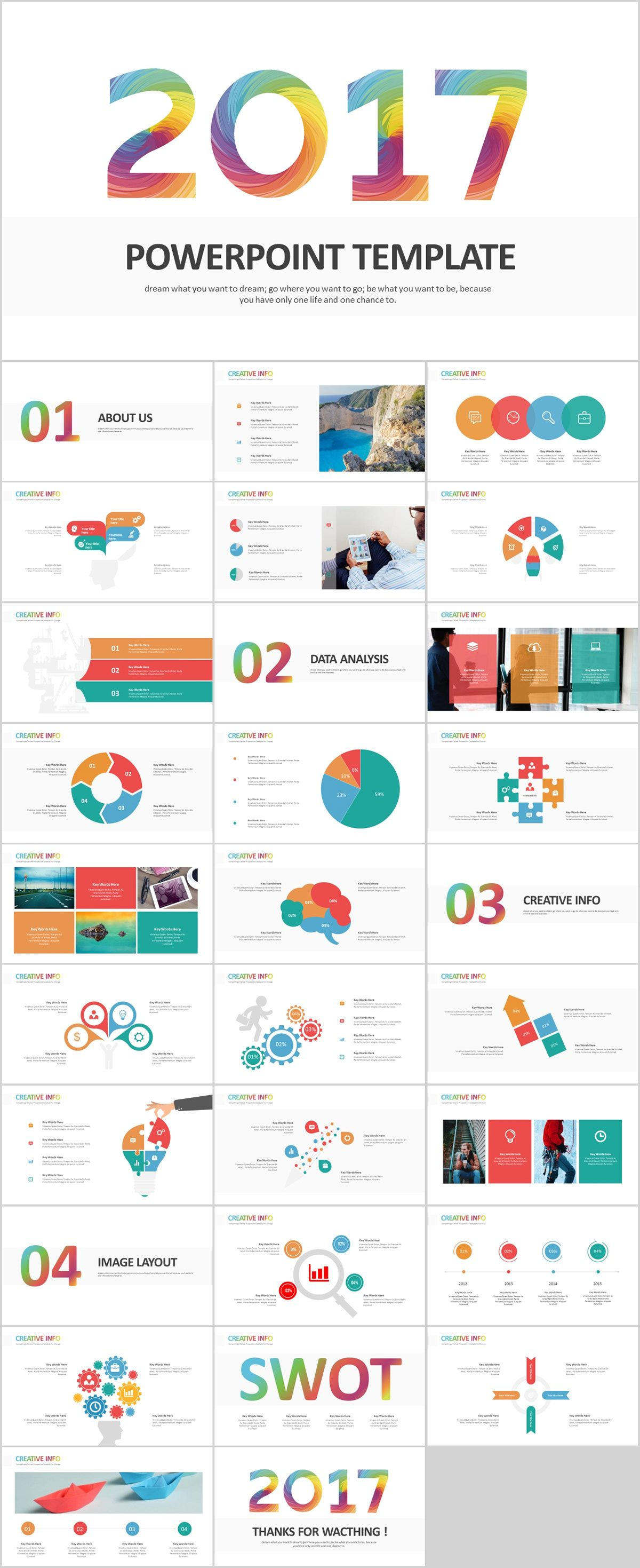 30 Best Infographics Swot Powerpoint Template Download On Behance