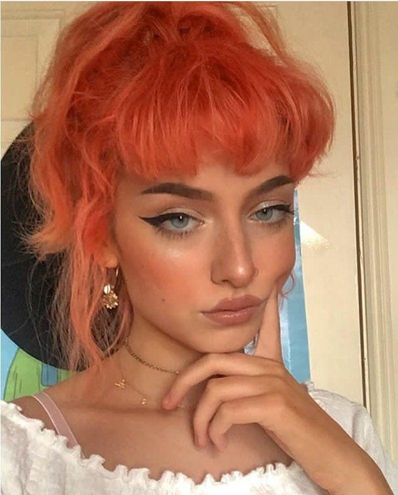 Evefrsr Grunge Makeup Rood Haar Haar En Foto Ideeën
