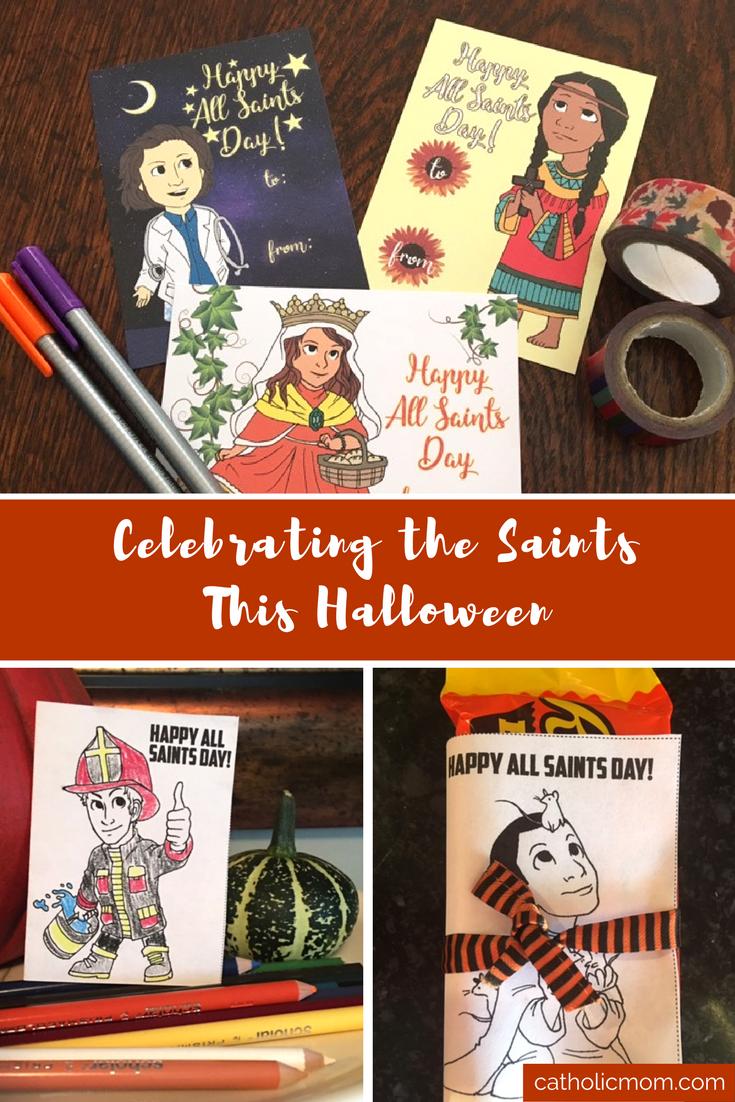 celebrating the saints this halloween   sarah damm via catholicmom