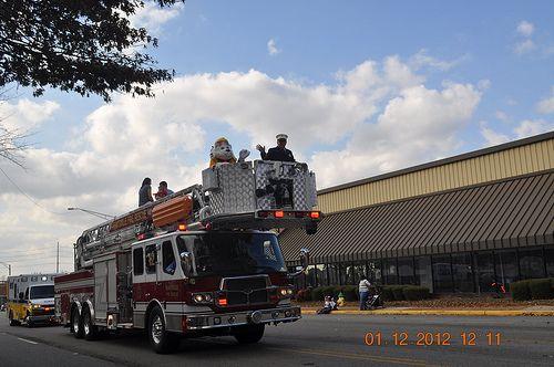 Huntsville Fire Truck
