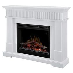 Dimplex Harlow Electric Fireplace White Canadian Tire Living