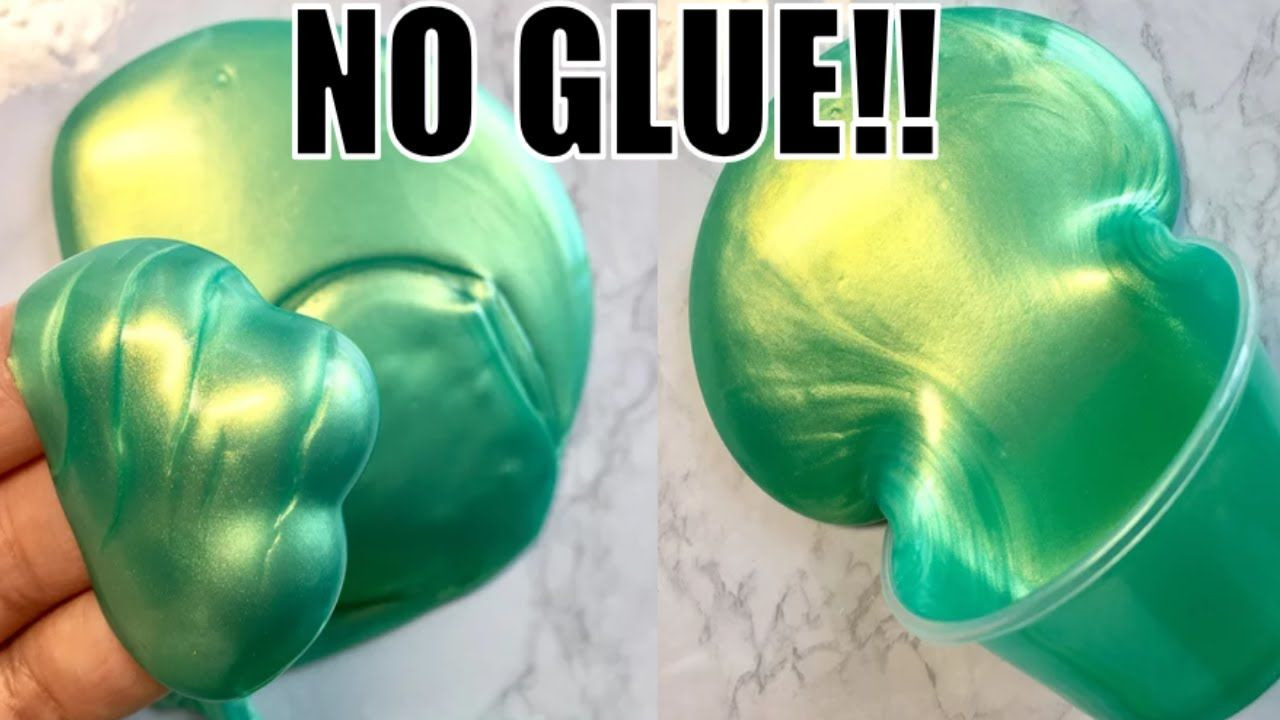 How To Make Slime Without Glue Or Any Activator No Borax No