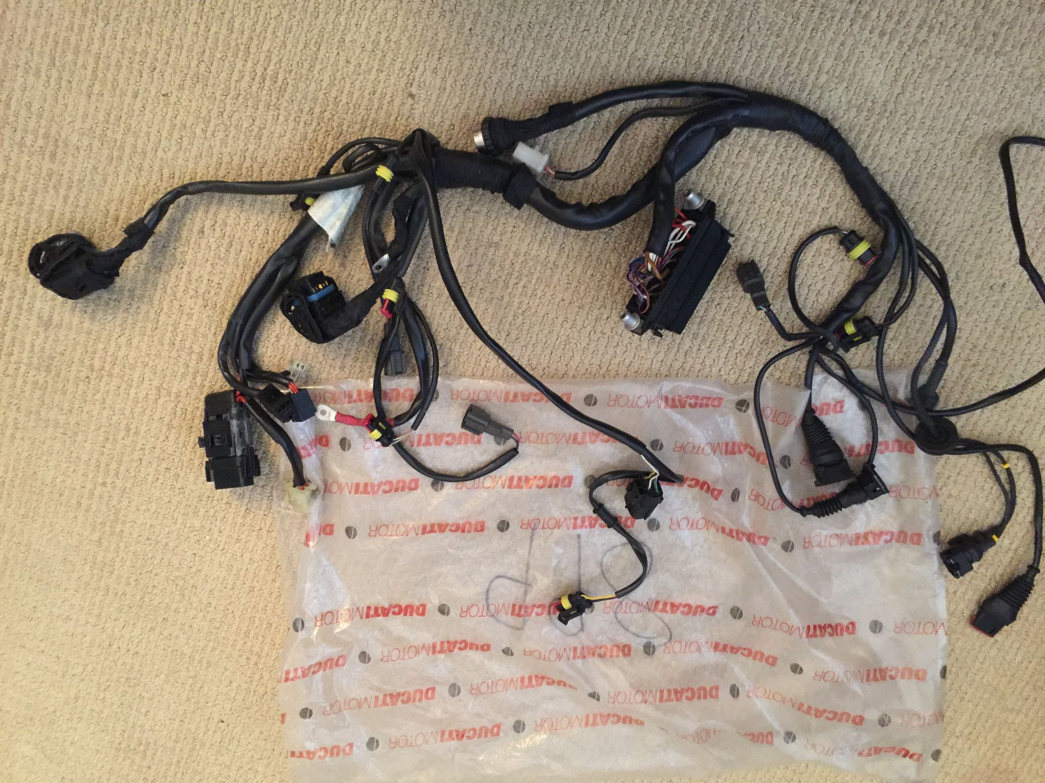 hight resolution of ducati 998 main wiring loom harness loom ducati 998 maine products
