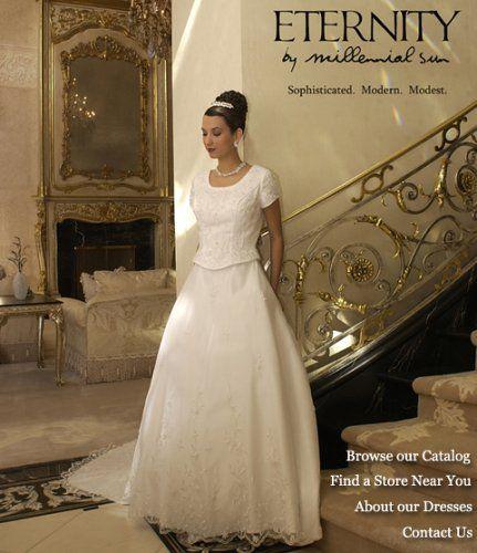... Gown Wedding Dress LDS Temple