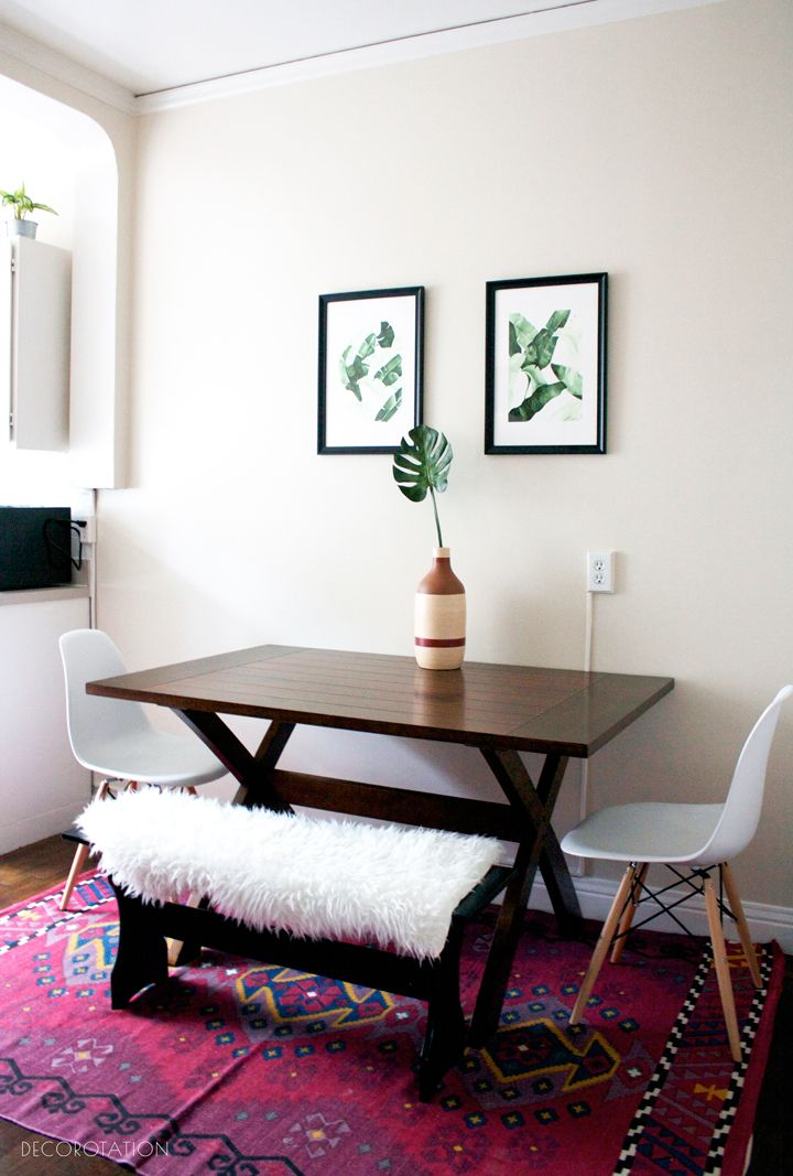 Work With Me Through Laurel Wolf Small Apartment Dining Room