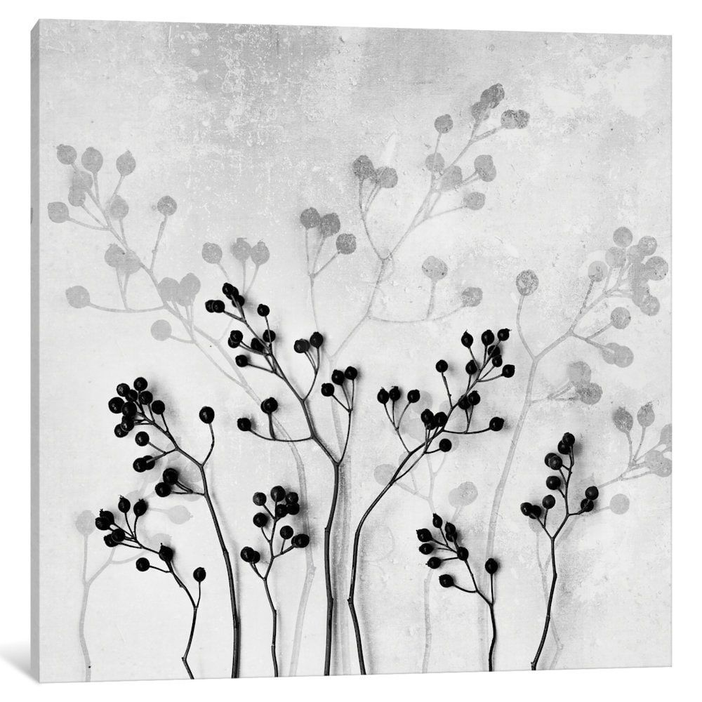 iCanvas 'Abstract Flowers V' by Mareike Böhmer Canvas Print