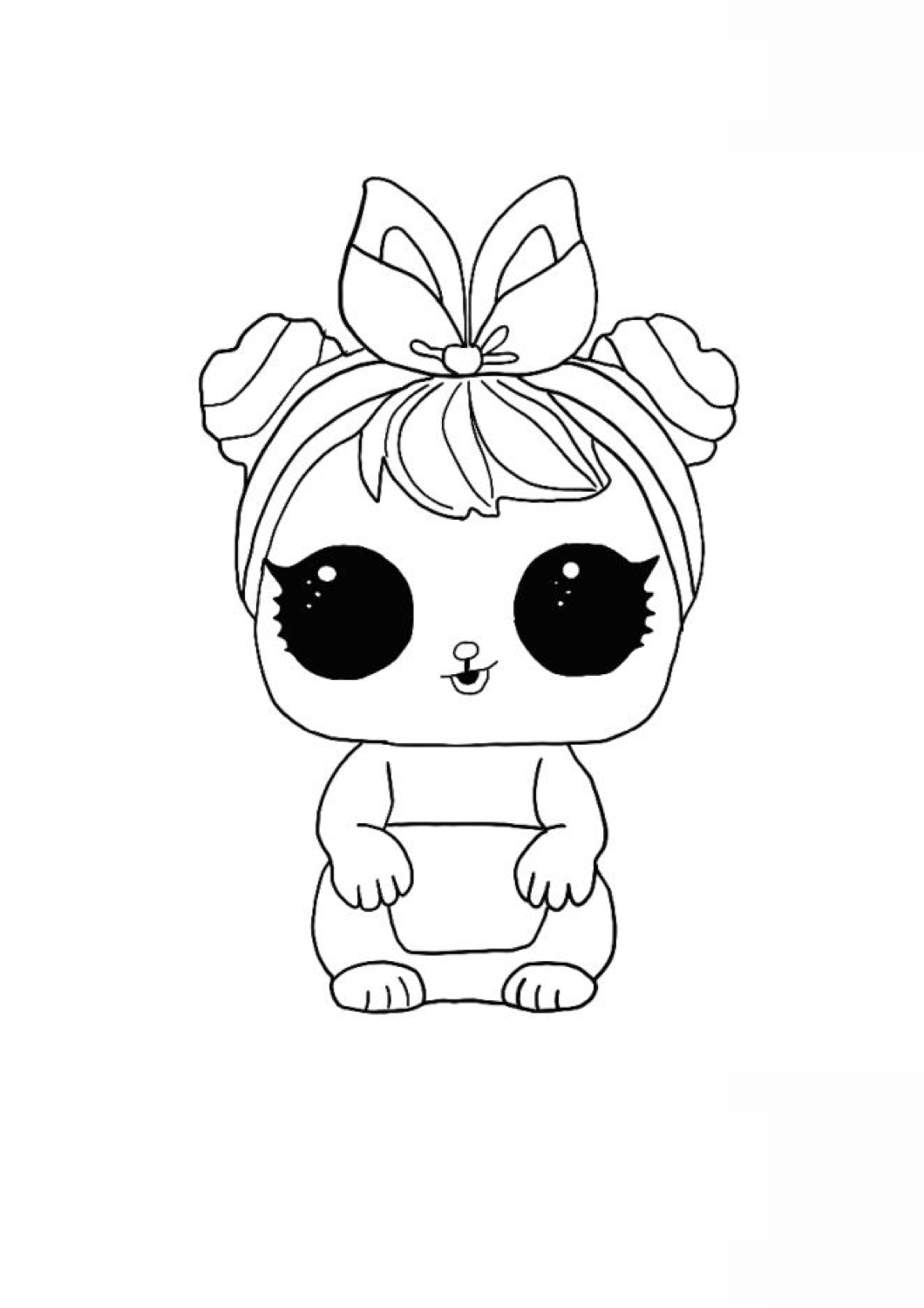 1060×1500 Fuzzy Pets™ WD017 in 2020 Coloring pages