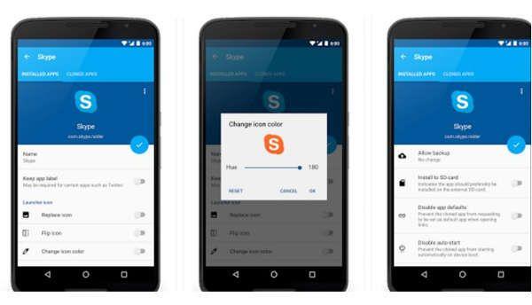 App del dia ( App Cloner  permite duplicar cualquier otra )