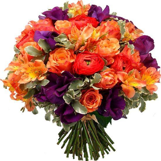Un Bouquet Baroque Tres Colore By Aquarelle Com Livraison Fleurs