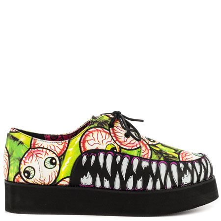 Timmy Chew Creeper - Green by Iron Fist  My kind of Shoe.....
