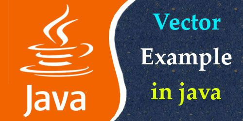 Vector Example In Java Java Programming Pinterest Java And