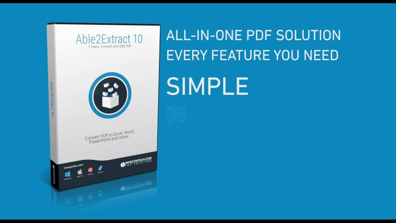 Pdf Editor Edit Pdf With Able2extract 10 Pdf 10 Things Editor