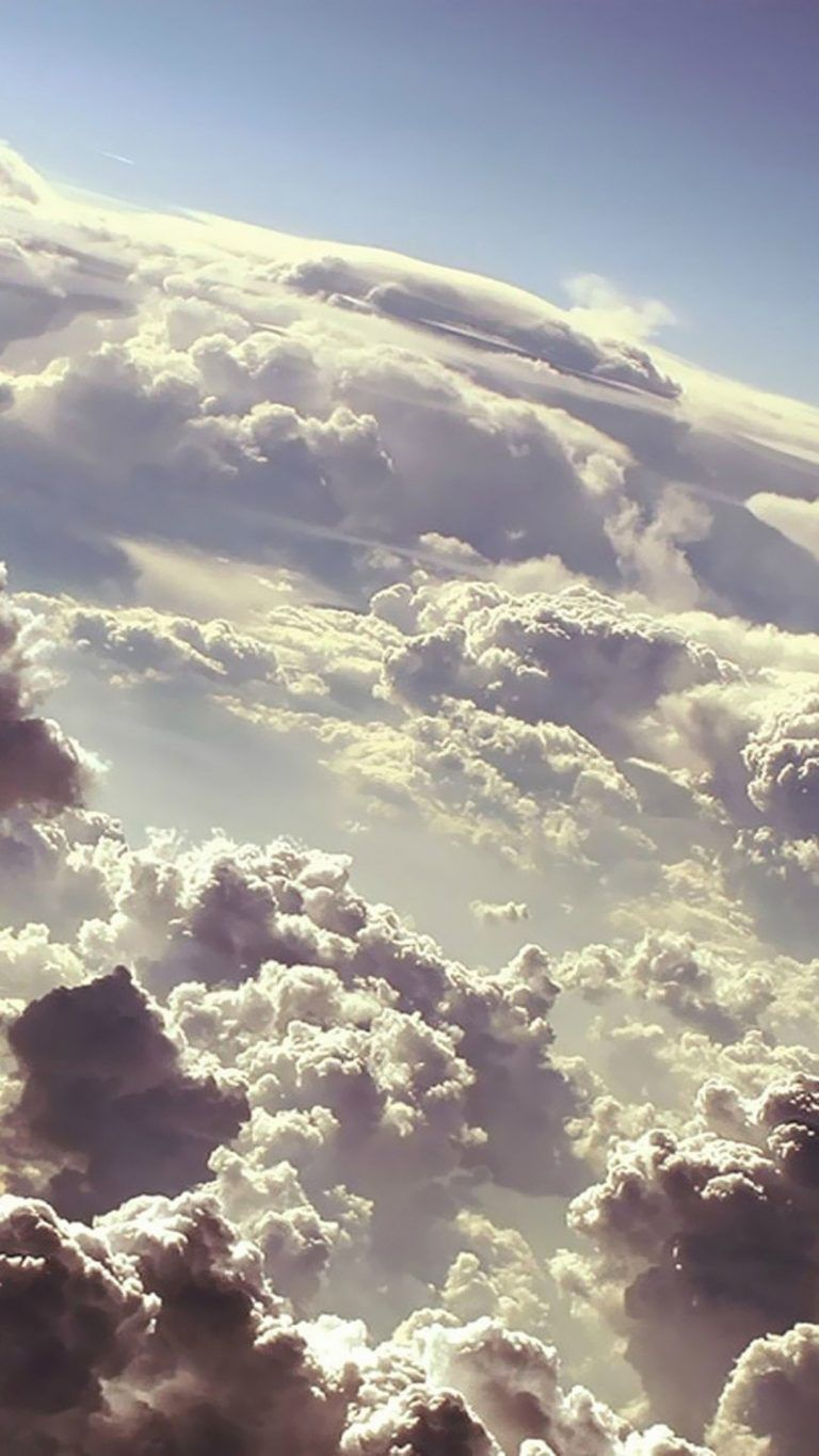 Clouds Beautiful Iphone 7 Wallpaper 1080x1920 In 2020 Clouds Backgrounds Free Iphone Wallpaper