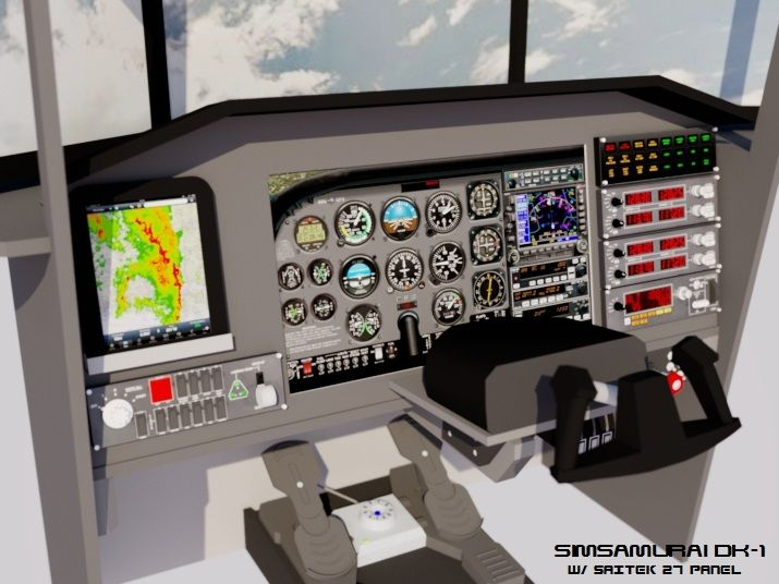 DIY Flight Simulator Cockpit Blueprint Plans and Panels | Aviation