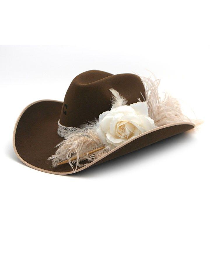 becf18b23a4 Kids Charlie 1 Horse Ellie Mae Hat Jr. at Maverick Western Wear ...