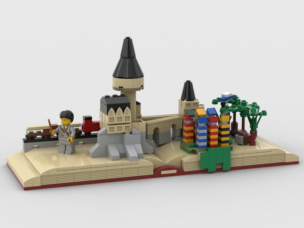 Harry Potter The Magic Story Book Lego Harry Potter Moc Lego Pictures Lego Harry Potter