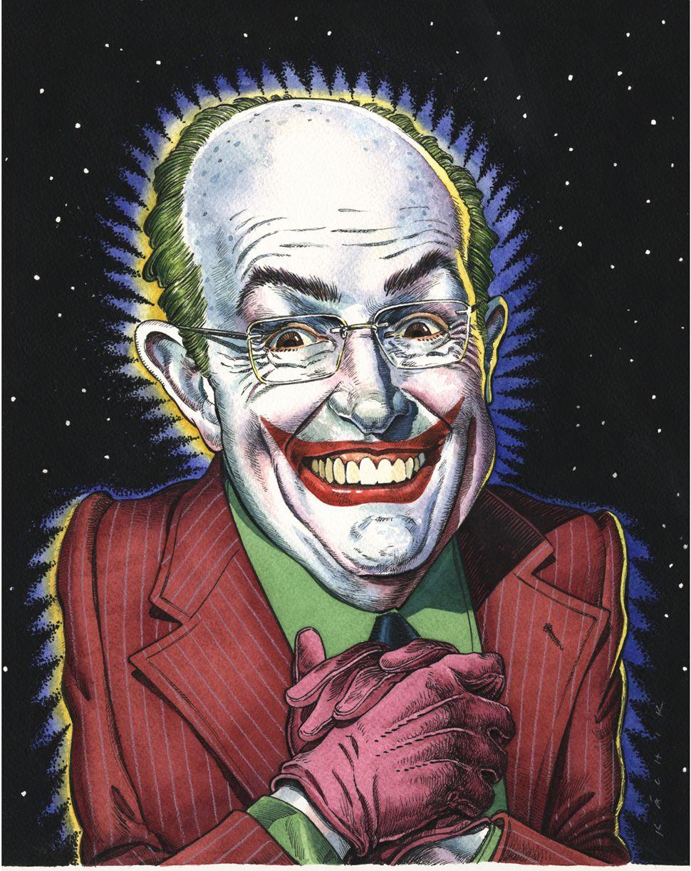 John Kachik Illustration Rudy The Joker Giuliani Joker Illustration Clown