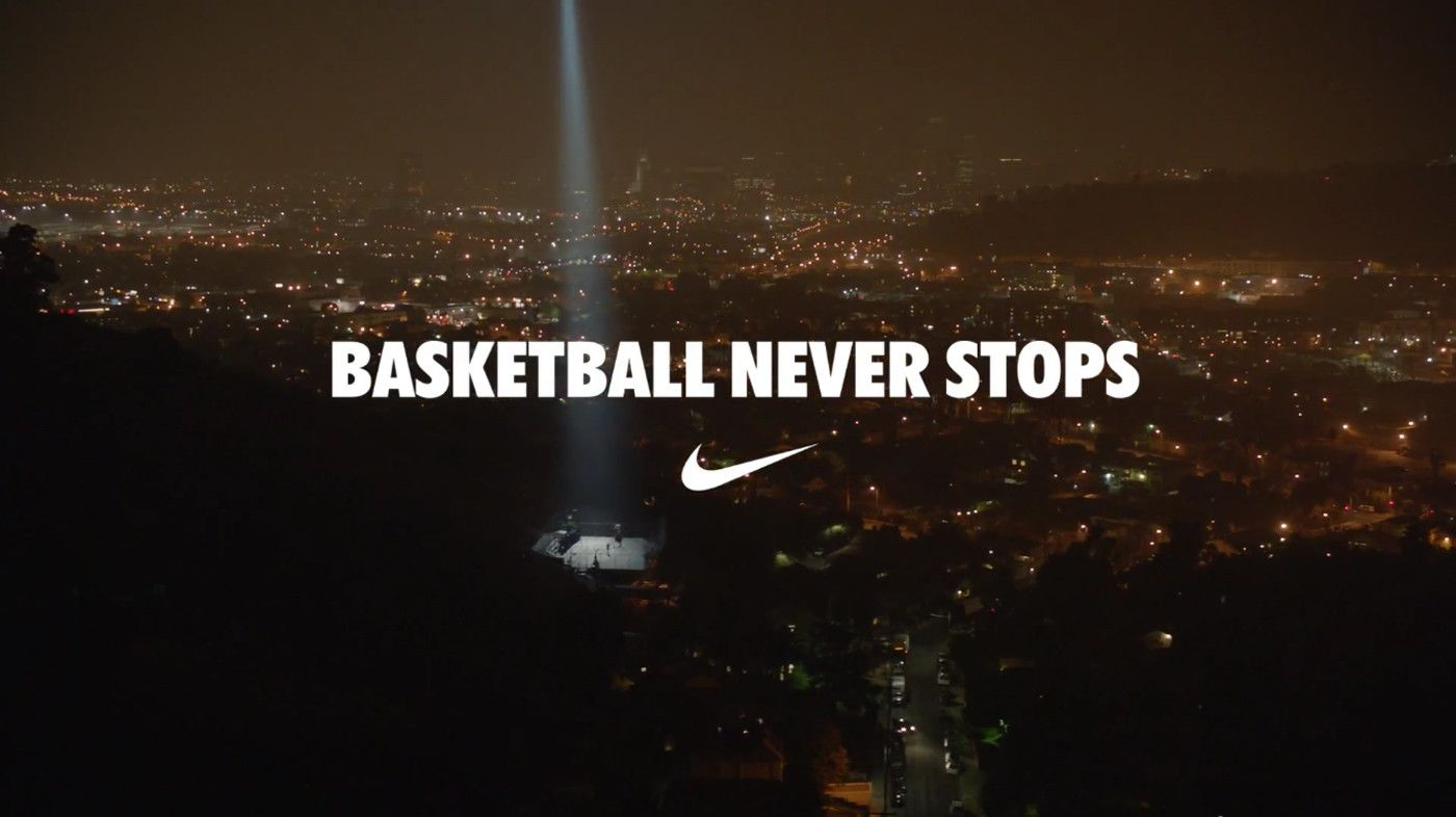 Wallpapers For Nike Basketball Never Stops Wallpaper Hd