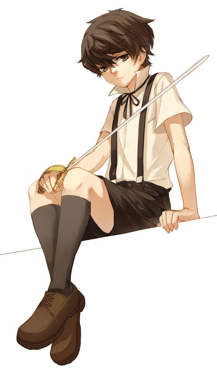 Pin By Susan Sader On Blake Anime Baby Brown Hair Anime Boy Anime Brown Hair