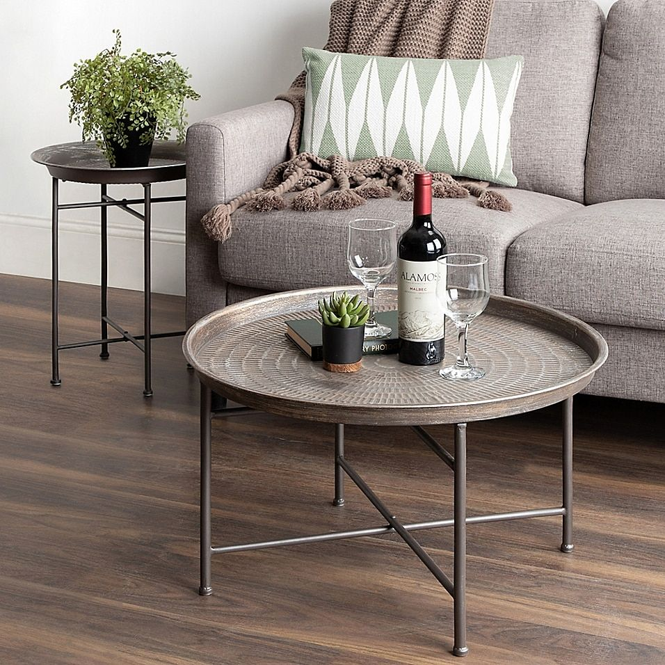 Kate And Laurel Mahdavi Round Coffee Table Bed Bath Beyond In 2021 Coffee Table Perfect Coffee Table Coffee Table Setting [ 956 x 956 Pixel ]