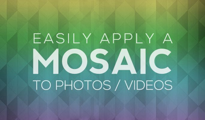 How to Add Mosaic/Censor Effect in iMovie | You videos