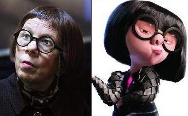 Wow Edna Mode And Edith Head Edith Head Was A Costume Designer That Was Born Oct 28 1897 Died Oct 24 1981 The Incredibles Edna Edna Mode
