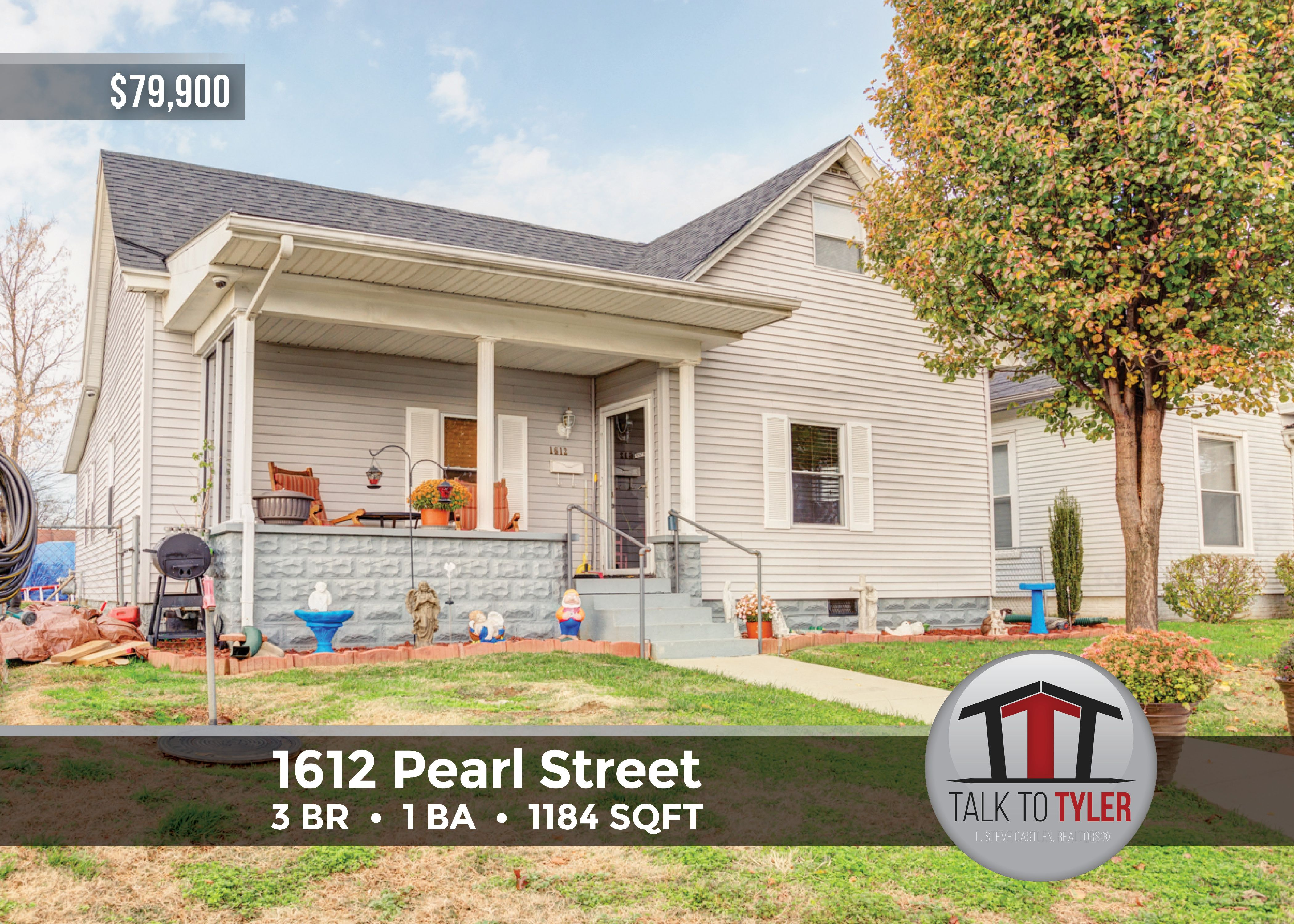 Stop paying rent! This home has been updated and is ready