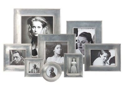 Lombardia Rectangular Frames by Match Pewter