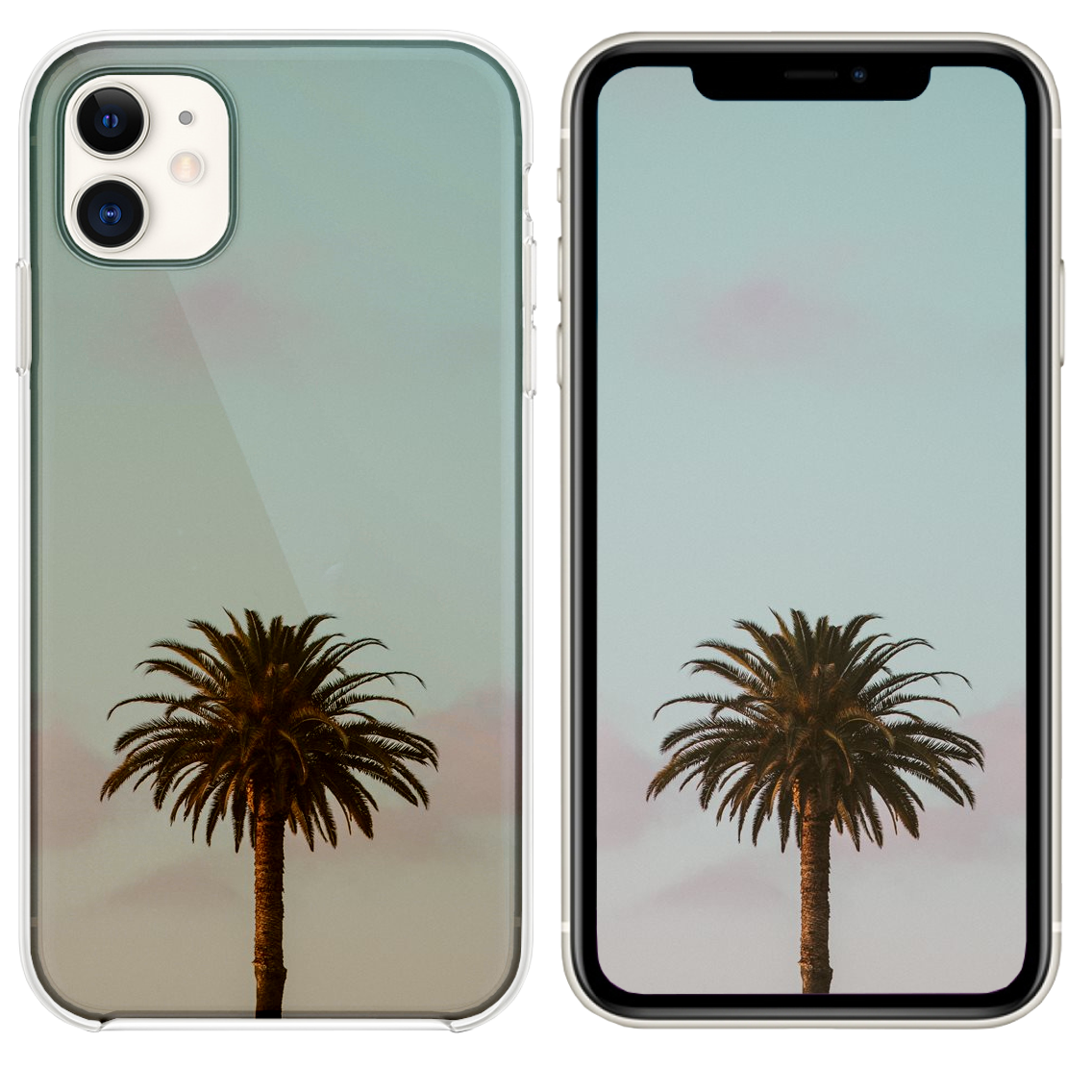 Green Palm Tree iPhone 11 case Iphone, Iphone 11, Iphone