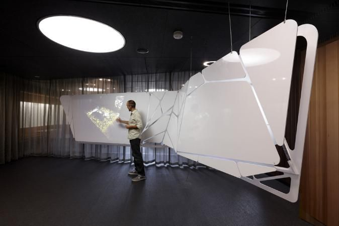 N2 The Spatial Research Group At Monash University Exhibition Design Australian Interior Design Interior Design Awards