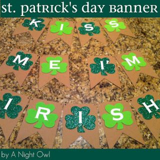 {Project Home} A St. Patrick's Day Banner