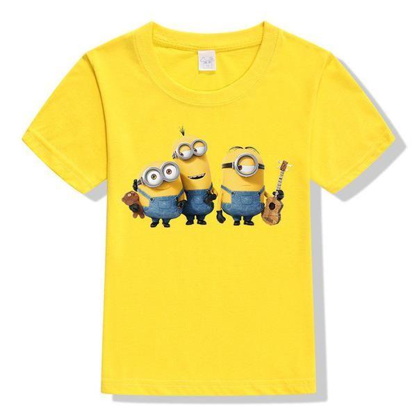 Minions 3d Cartoon T Shirt Art By Mel W Cartoon T Shirts Shirts T Shirt