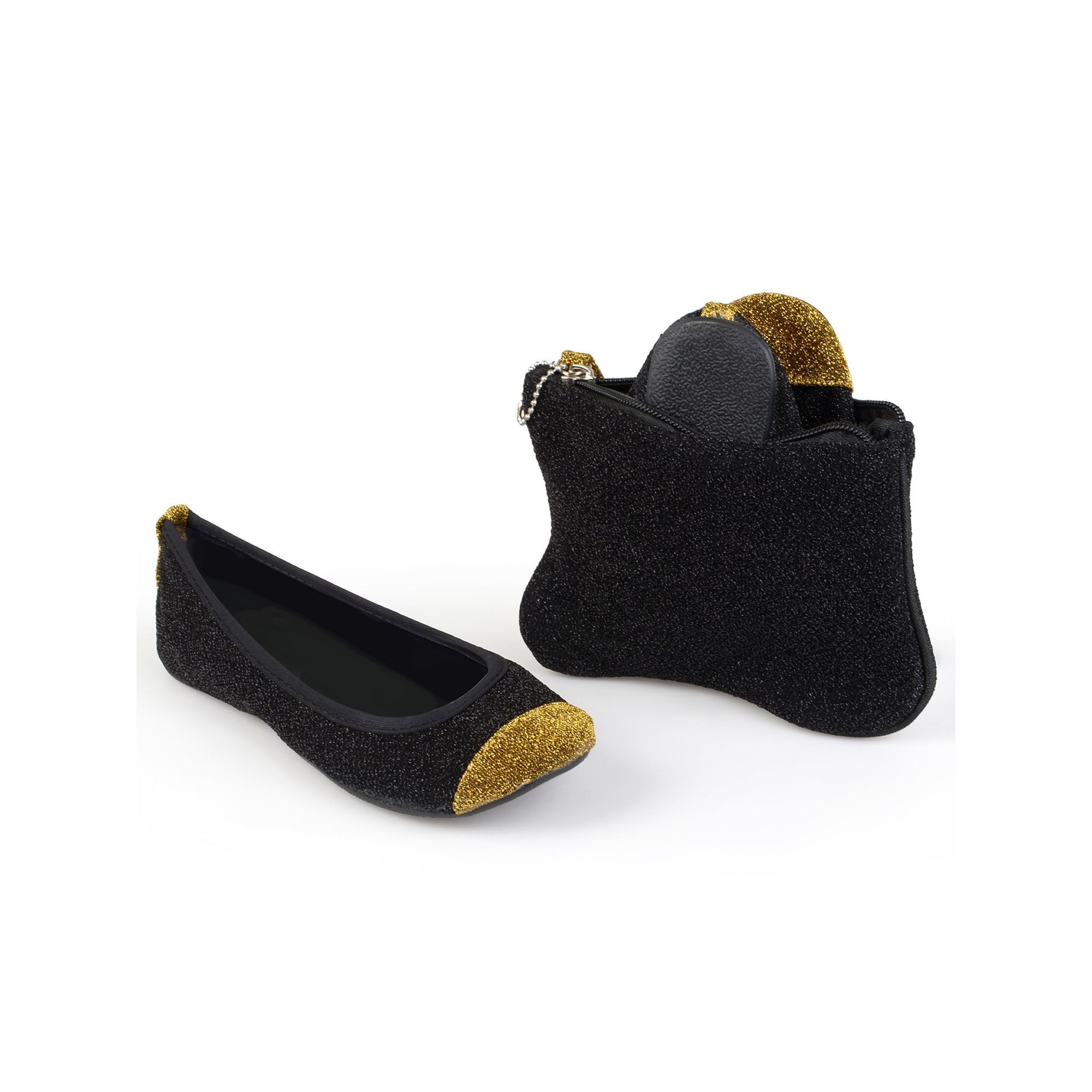 free shipping for cheap Sidekicks Women's Foldable ... Glitter Ballet Flats collections online Cheapest cheap online clearance with mastercard discount professional qPLKHEq