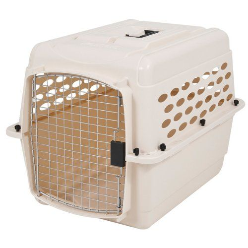 Special Offers - Petmate 21947 Vari 28-Inch Pets Kennel 25-30-Pound Bleached Linen - In stock & Free Shipping. You can save more money! Check It (April 19 2016 at 01:03AM) >> http://doghousesusa.net/petmate-21947-vari-28-inch-pets-kennel-25-30-pound-bleached-linen/