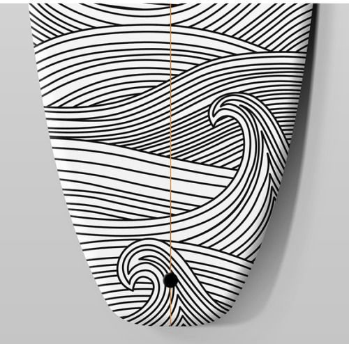 Black And White Surfboard Designs Surfboard Art Surfboards