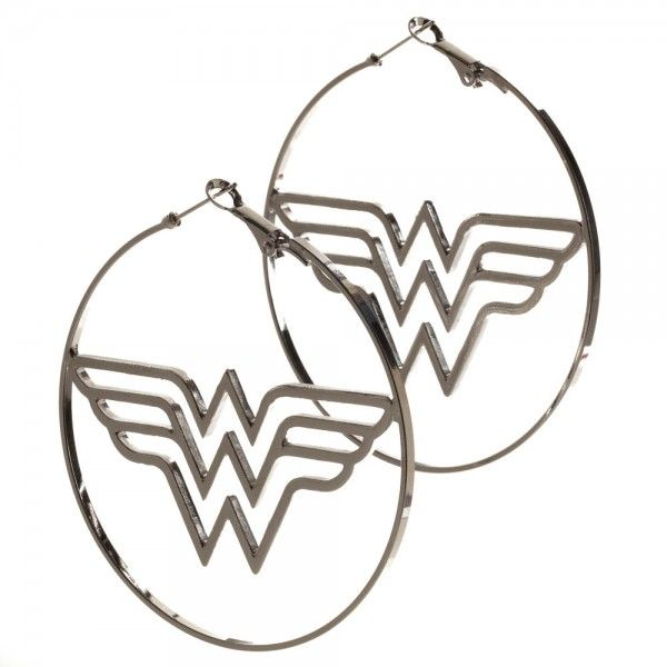 These Awesome Officially Licensed Wonder Woman Big Hoop Earrings