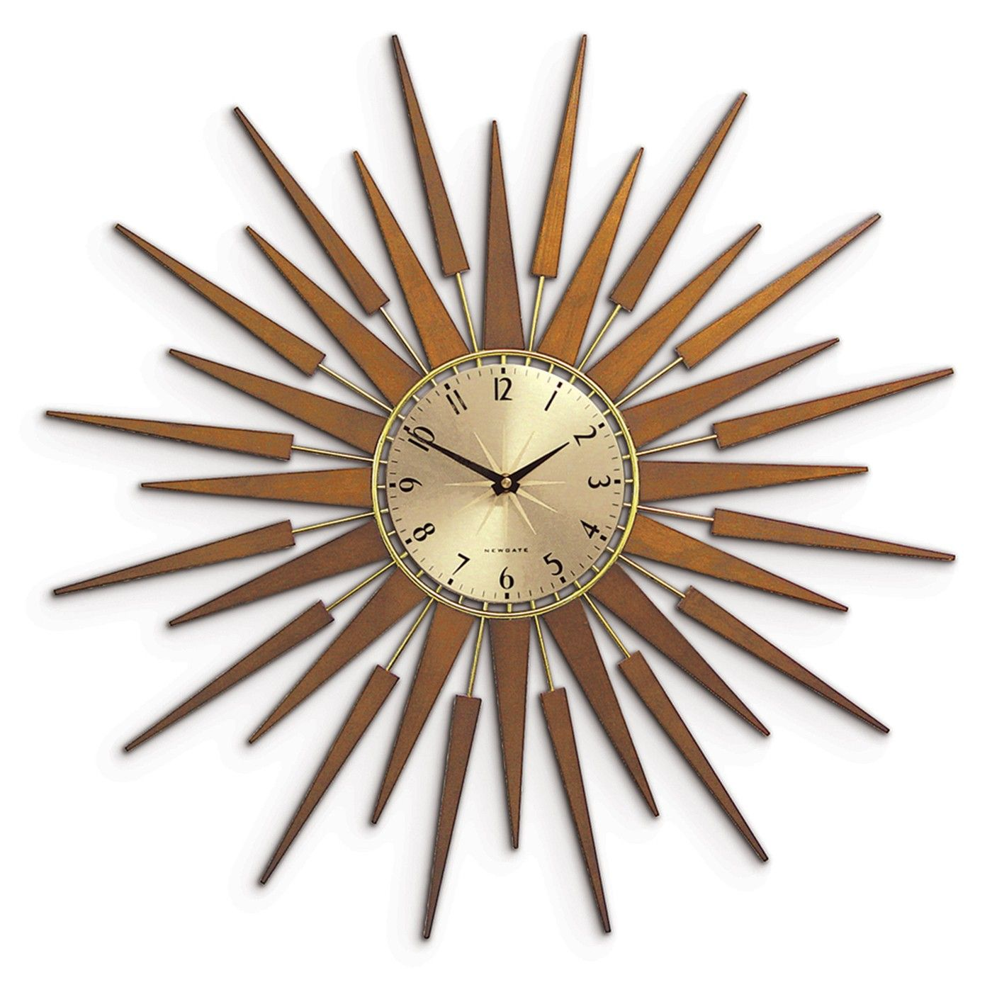 Newgate pluto starburst gold wall clock ideas for the house newgate pluto starburst gold wall clock amipublicfo Images