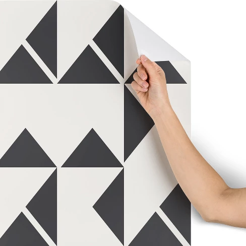 Holli Zollinger Pinwheels Wallpaper White Deny Designs Deny Designs Peel And Stick Wallpaper Black And White Wallpaper