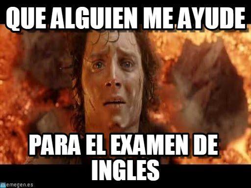 Memes De Examenes Imagenes Chistosas Memes De Examen Memes Chistoso