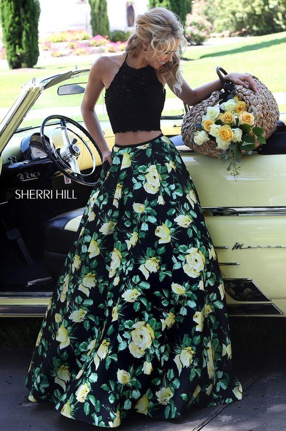 32502b92de OUTFIT DEL DÍA  Look con falda larga floreada