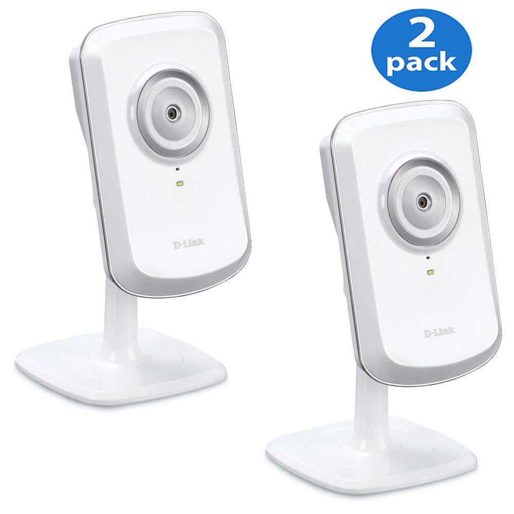 2pack dlink wirelessn network surveillance camera w